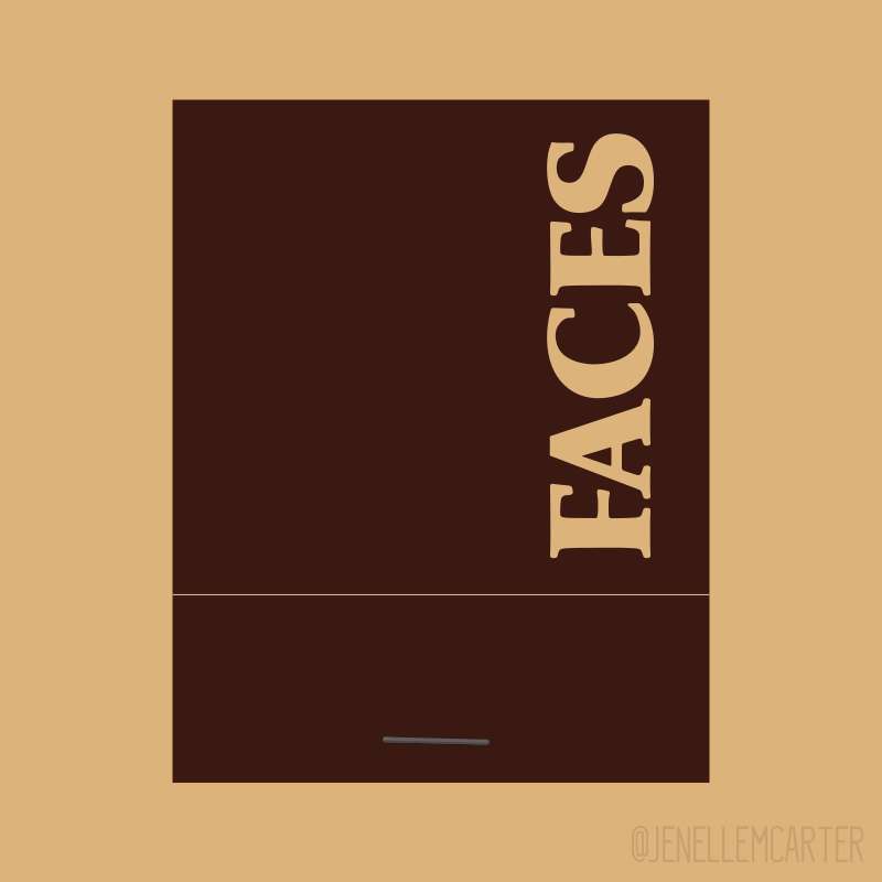 FACES Matchbook Cover