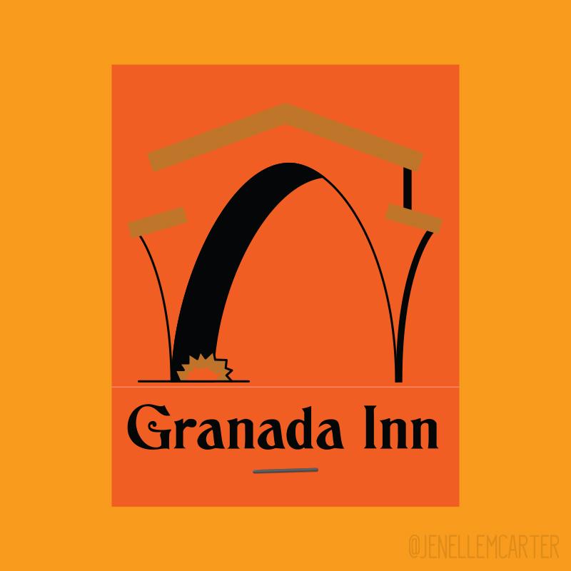 Granada Inn Matchbook Cover