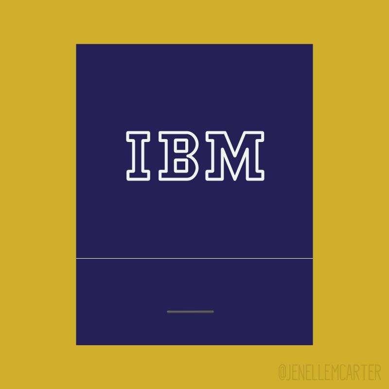 IBM Matchbook Cover