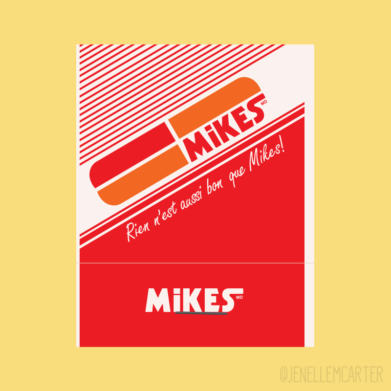 Mikes Matchbook Cover