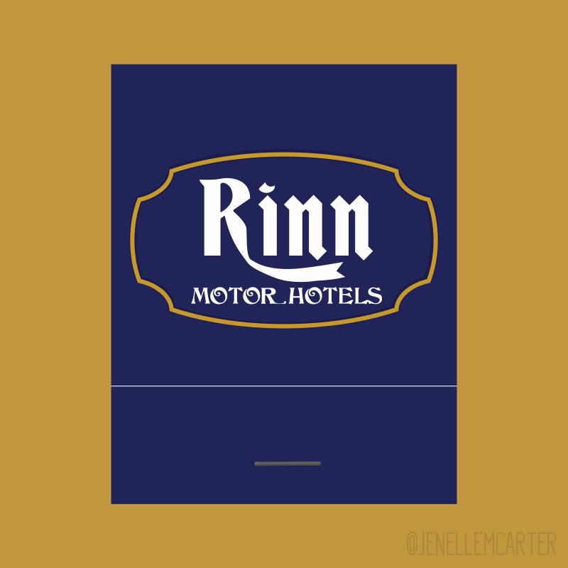 Rinn Matchbook Cover