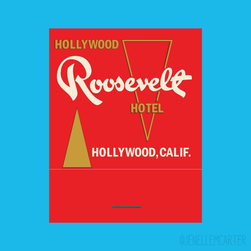 Roosevelt Hotel Matchbook Cover