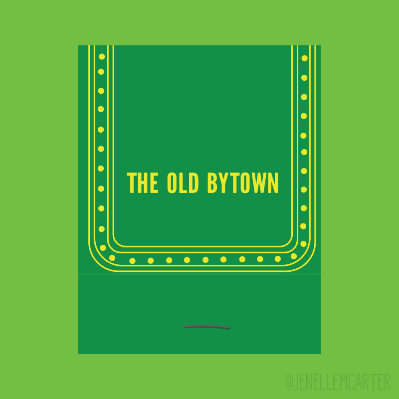 The Old Bytown Matchbook Cover