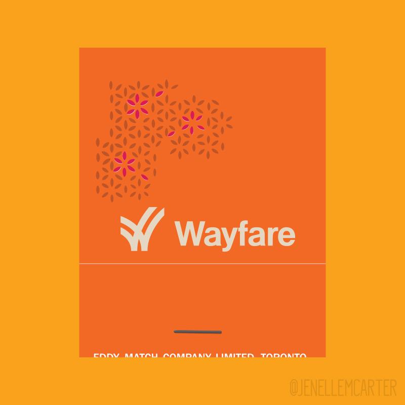Wayfare Matchbook Cover