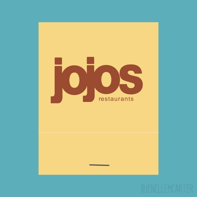jojos Matchbook Cover